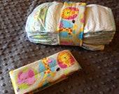Safari Animals Diaper Strap