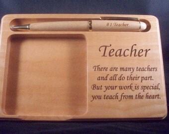 Post It Memo Holder for a Teacher