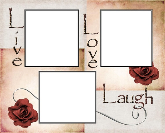 8x10 Live, Love , Laugh Picture Frame