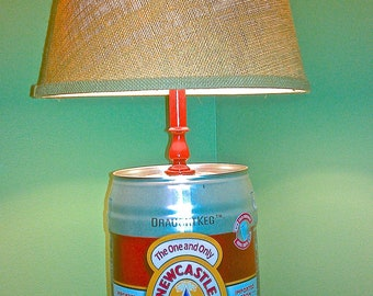 New Castle Brown Ale Lamp