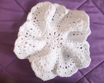 Flower Power Crochet Dishcloth Pattern