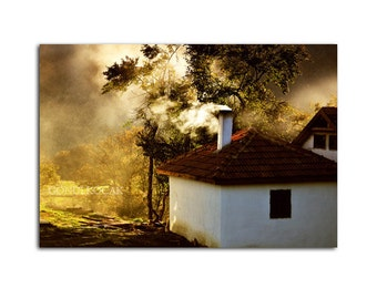 Little house, Landscape photography, fine art photography, home Decor, wall art, colour, 10''x 15 ''inch.