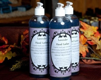 Lavender Hand Lather