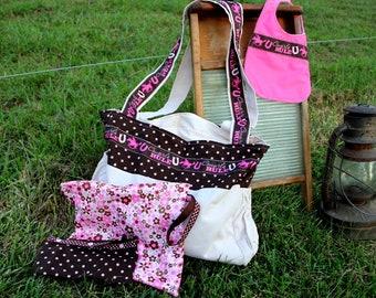 Cowboy and Cowgirl Daiper Bag sets