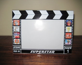 Hollywood Clapboard Picture Frame - Looney Tunes