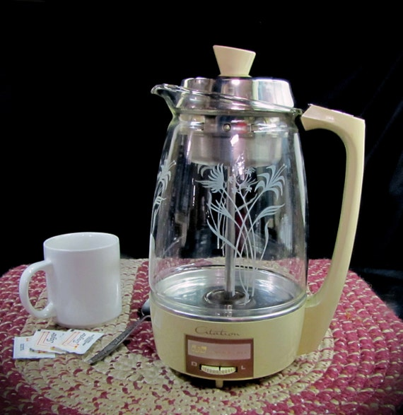 Vintage Proctor Silex Citation Coffee Pot by SilverShadowShop