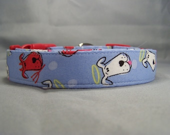 Angel Dog Devil Dog Collar