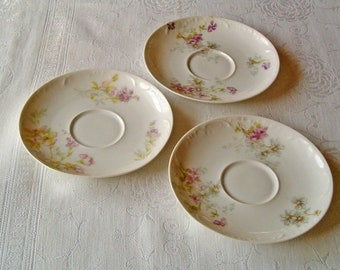 Theodore Haviland Limoges Saucers