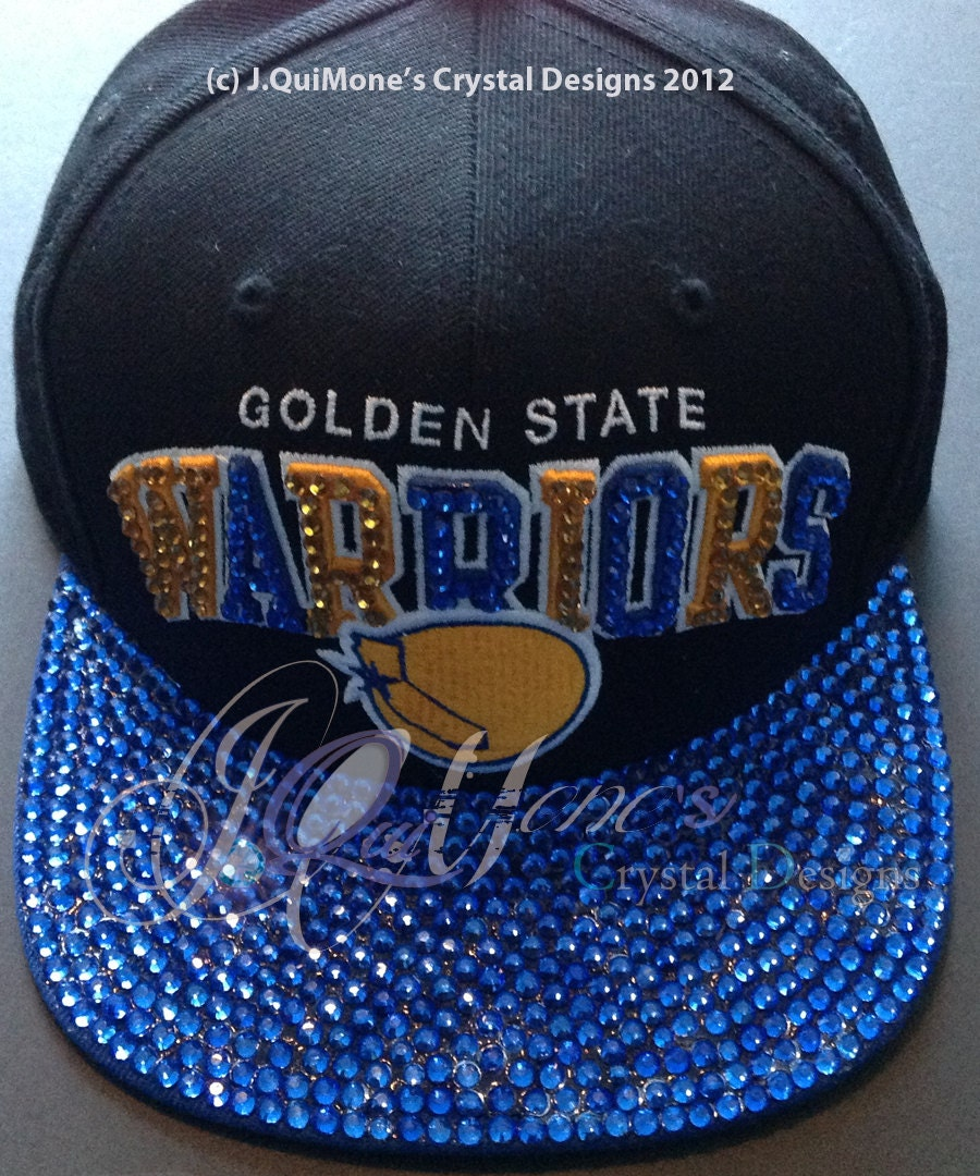 Warriors Come Out And Play Logo: For Sale Golden State Warriors Blinged Out Hat Adult