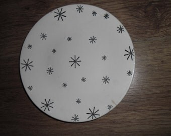 1950s Side Plate Washington Potteries