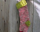 Christmas Stockings in Slightly Traditional Chartreuse