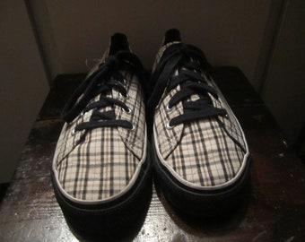 Skater Airwalk  Plaid Sneakers Size 6