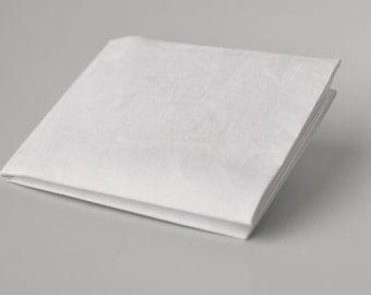Tyvek Paper Wallet. Slimfold - Plain White.