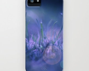 iPhone Case - 5 4 4s 3g 3gs - Midnight Dream - abstract photography - blue - nature - fantasy - bokeh - night