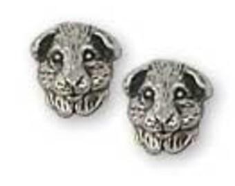 Solid Sterling Silver Guinea Pig Earrings