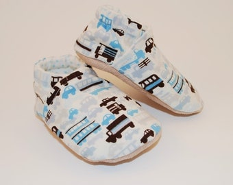 Rush Hour Soft Sole Cloth Baby Shoe