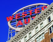 """Western Auto 4 - Photograph - 8"""" x 10"""" matted to 11"""" x 14"""""""
