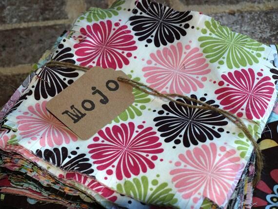 Rag Quilt Kit Pre Cut Rag Squares Throw Size Reversible