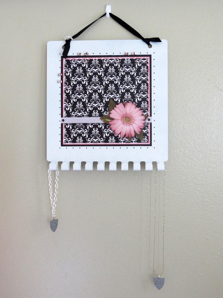 Wall Decoration Using Bangles : Customizable wall decor jewelry holder