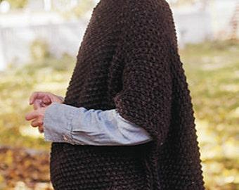 Knitting Pattern For Blanket Poncho : Popular items for blanket poncho on Etsy