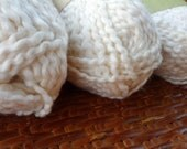 "Organic Cotton Yarn - Nature's Choice ""Almond"" - 3 Balls"