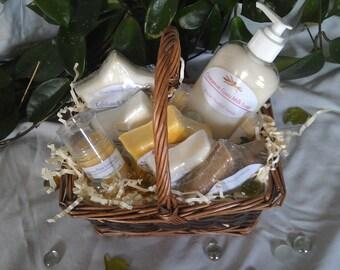 Goats Milk Soap Sampler Gift Basket