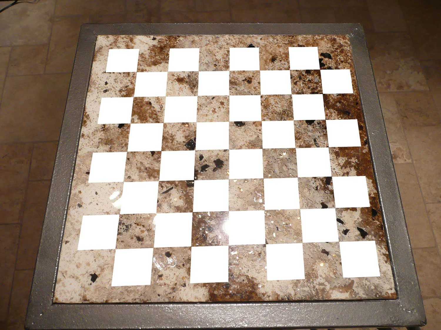 Make Your Own Chess Checker Game Board By