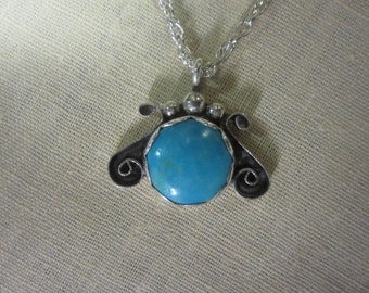 Turquoise Pendent - Tom Nugent