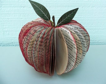 Book Art Apple