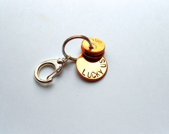 Lucky Penny Key Chain
