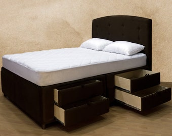 ... Matching Headboard Queen Bed Frame King Bed Frame Free Shipping Choco