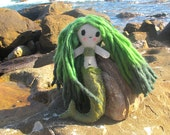 Rivergreen, the River Mermaid - Cute Mermaid Plushie