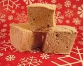 Gingerbread Marshmallows - 1 dozen Gourmet homemade marshmallows for Christmas