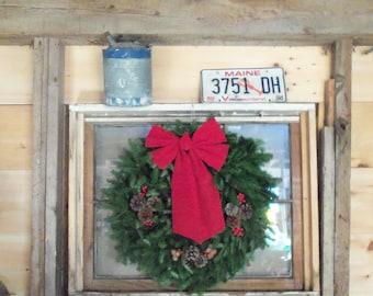 Downeast Maine Balsam Holiday Wreath