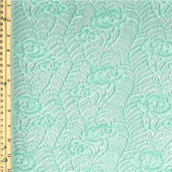 arts and crafts lace curtain fabric by the yard