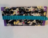 Tinkerbell Clutch with Ruffles reserved for lydia