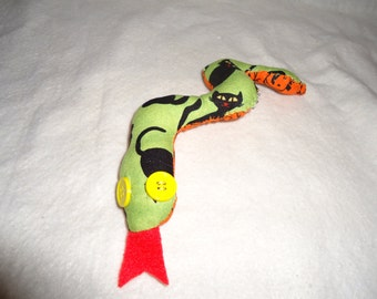 Cute handmade snake plush