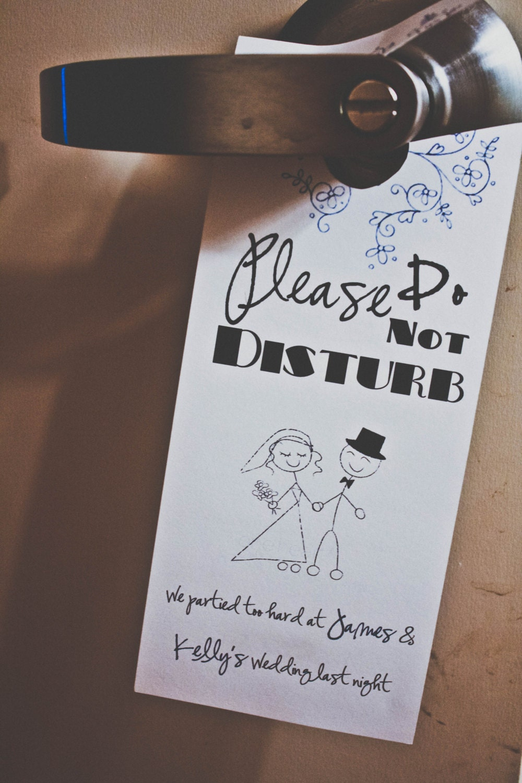 Hotel Gift Bags For Wedding Guests Wording : Wedding Hotel Door Sign/ Welcome gift bag