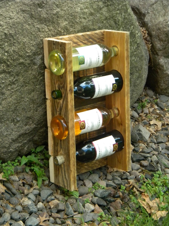 Unique Wine Rack Pallet Wine Rack Wall Wine by JNMRusticDesigns