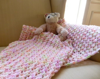 Baby Girl Lace Blanket