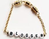 4+ Bead Alphabet Bracelet