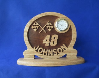 Jimmy Johnson Desk Clock