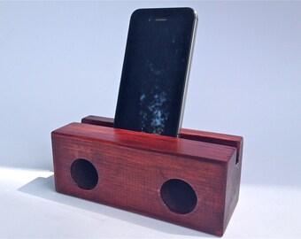 wooden speaker for iPhone