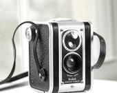 Kodak Duaflex 1st version with Kodet Lens by Eastman Kodak -  vintage camera - twin-lens reflex camera - Film photography