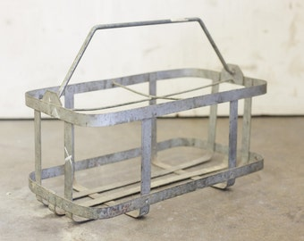 Vintage French Wine Carrier (Rack)
