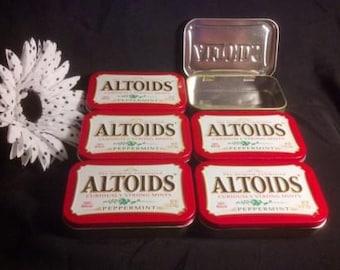 Empty Altoid Tins - 6 Pack Altoid Craft DIY