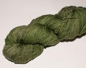 Orleans Merino 400 yard Hand-Dyed Fingering Yarn in Leaf