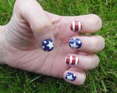 4th of July Nail Strips - Stars & Stripes