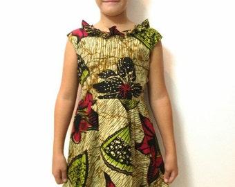 African print Cladell Safari Dress