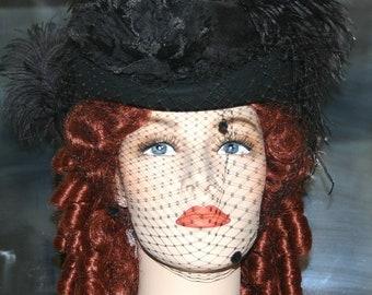 Victorian Riding Hat SASS Hat - Spirit of Wichita